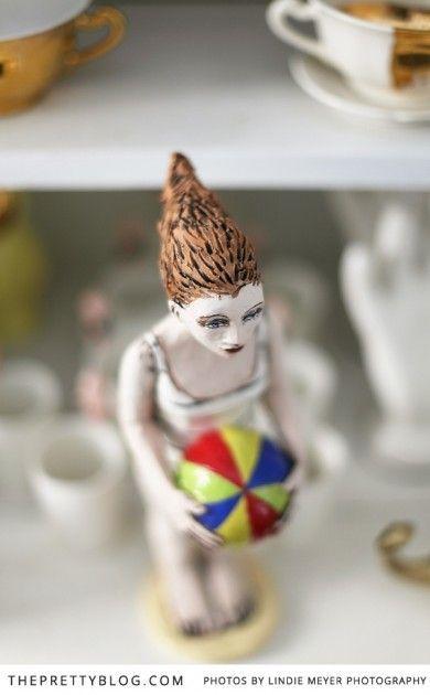 Handmade art piece- woman figurine | Haas Collective | Photography: Lindie Meyer