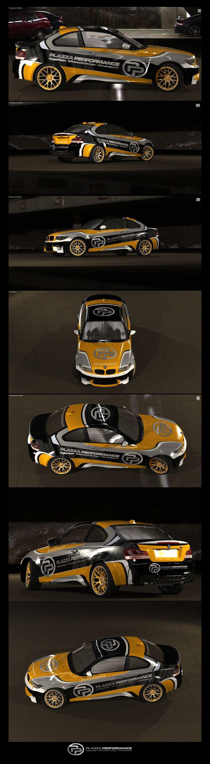 Car stickers design images - Ontwerp 81 Door Levmans Erstellt Ein Cooles Design F R Plazza Performance Pp135i Car Stickersvehicle