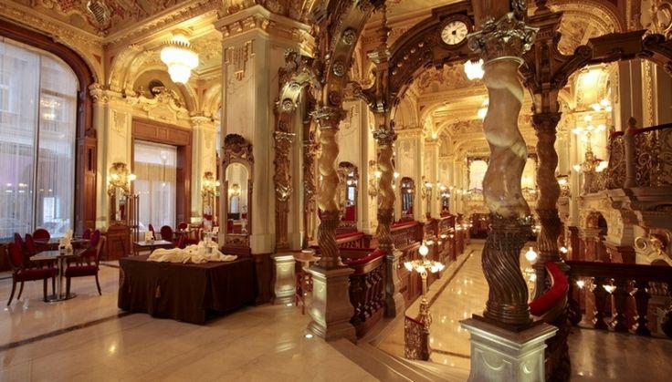 Cafés et pâtisseries de Budapest - New York Café Budapest