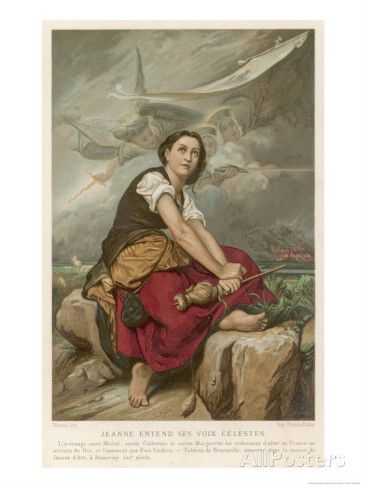 Joan of Arc Maid of Orleans French National Heroine Giclee Print by Benouville at AllPosters.com