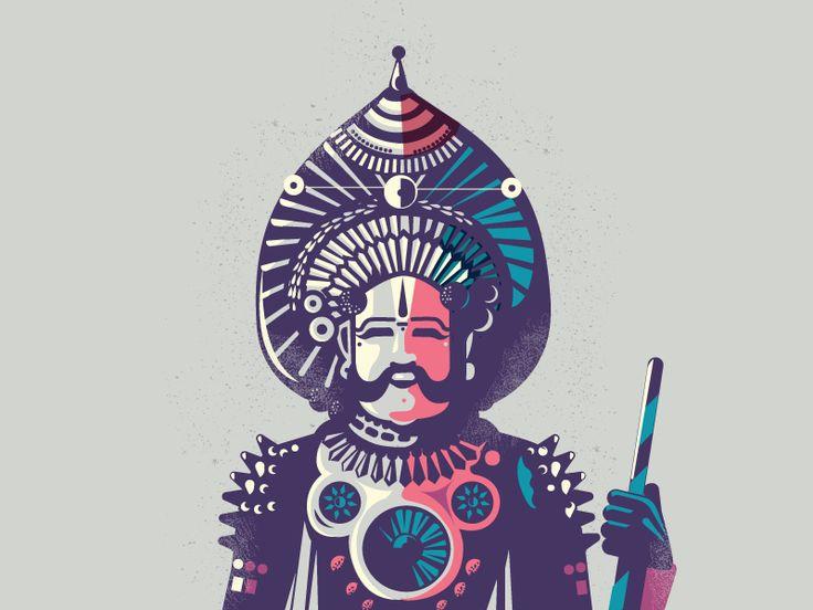 Yakshagana - folklore 01 by ranganath krishnamani