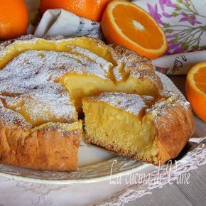 crostata morbida all' arancia