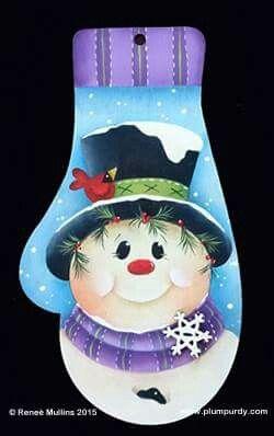 Renee Mullins Snowman