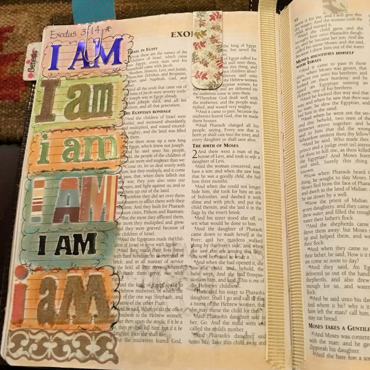 Bible journaling-Exodus