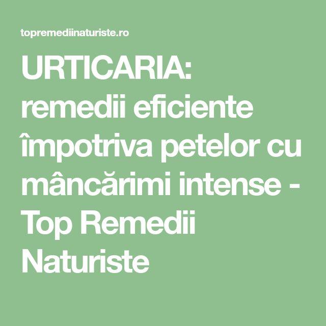 URTICARIA: remedii eficiente împotriva petelor cu mâncărimi intense - Top Remedii Naturiste
