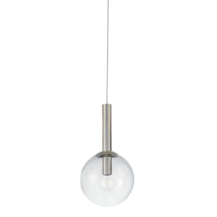 "Sonneman 3762.35 Bubbles 12"" Pendant in Polished Nickel Finish"