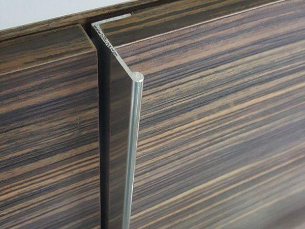 Aluminium L Profile Handle 283