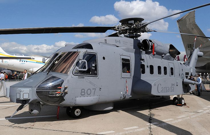 RCAF Sikorsky CH-148 Cyclone Helicopter Gerry Metzler - http://www.flickr.com