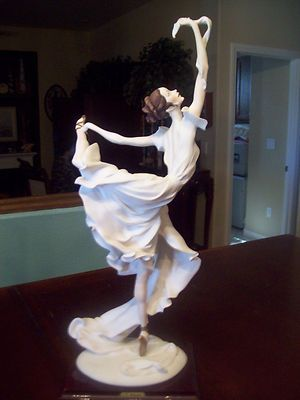 G Armani Figurine Ballerina Figure Made in Italy | eBay