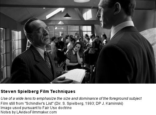 a movie analysis of schindlers list by steven spielberg Review schindler's list rating:  much-delayed steven spielberg film about a  hero of the holocaust starring liam neeson, ben kingsley.