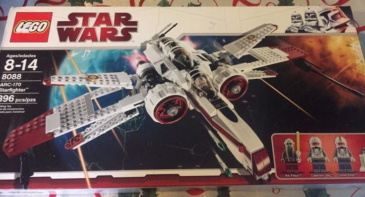 Brand New LEGO Star Wars ARC-170 Starfighter 8088 Building Toy  #LEGO