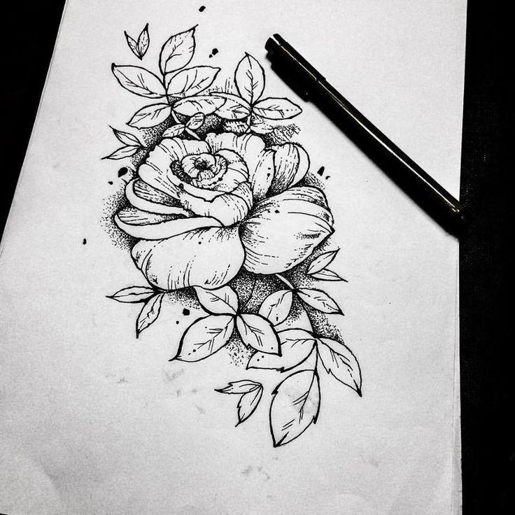 #blackwork #dotwork #jimmybct #cyphertattoo #rose #ct #tattoo #idea #drawing
