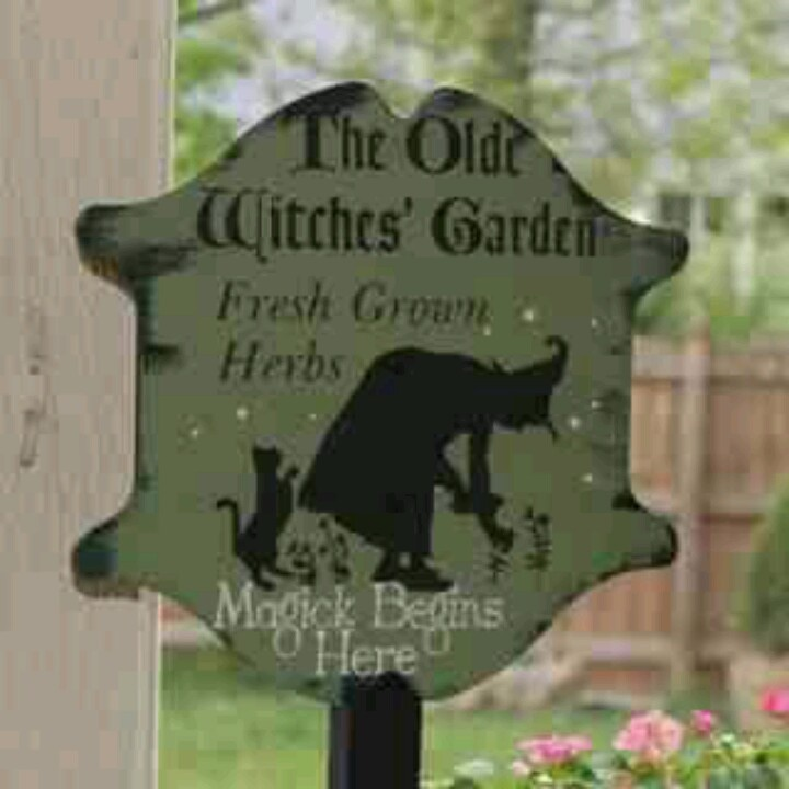 herbs decorative signs garden signs herbs garden witches garden herbs