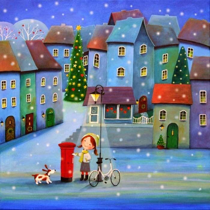 Stacey Kurtz Art For Mural In Boys: Winter Illustrations Images On Pinterest