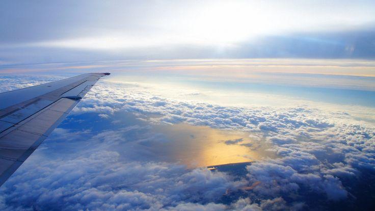 Download Wallpaper 3840x2160 Sky Altitude Clouds