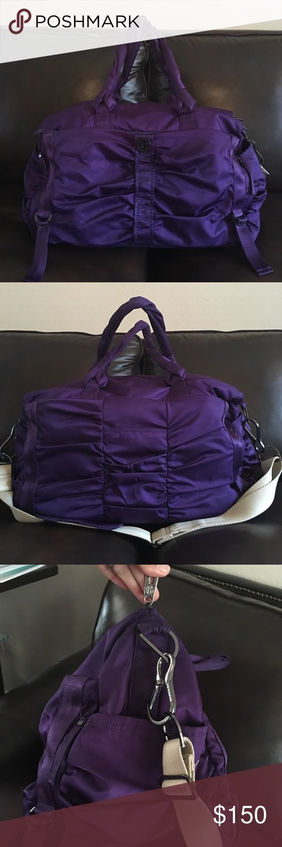 Lululemon bon voyage overnight bag In excellent used condition... lululemon athletica Bags Travel Bags