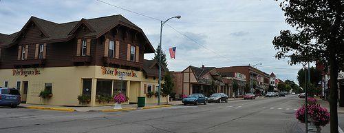 Berne Indiana main street |- David Lewis