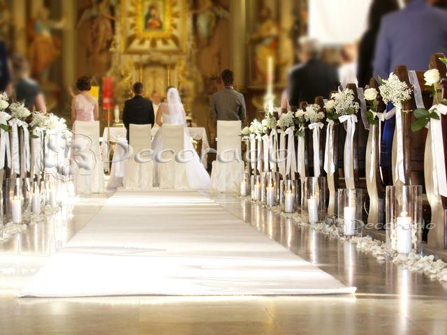 Romantyczna biel – dekoracja Kościoła w Biechowie