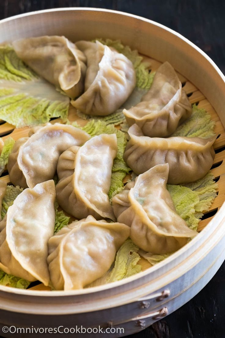 My mom's secret recipe for creating the best pork dumplings. The dumplings are juicy, tender and taste so good even without any dipping sauce!