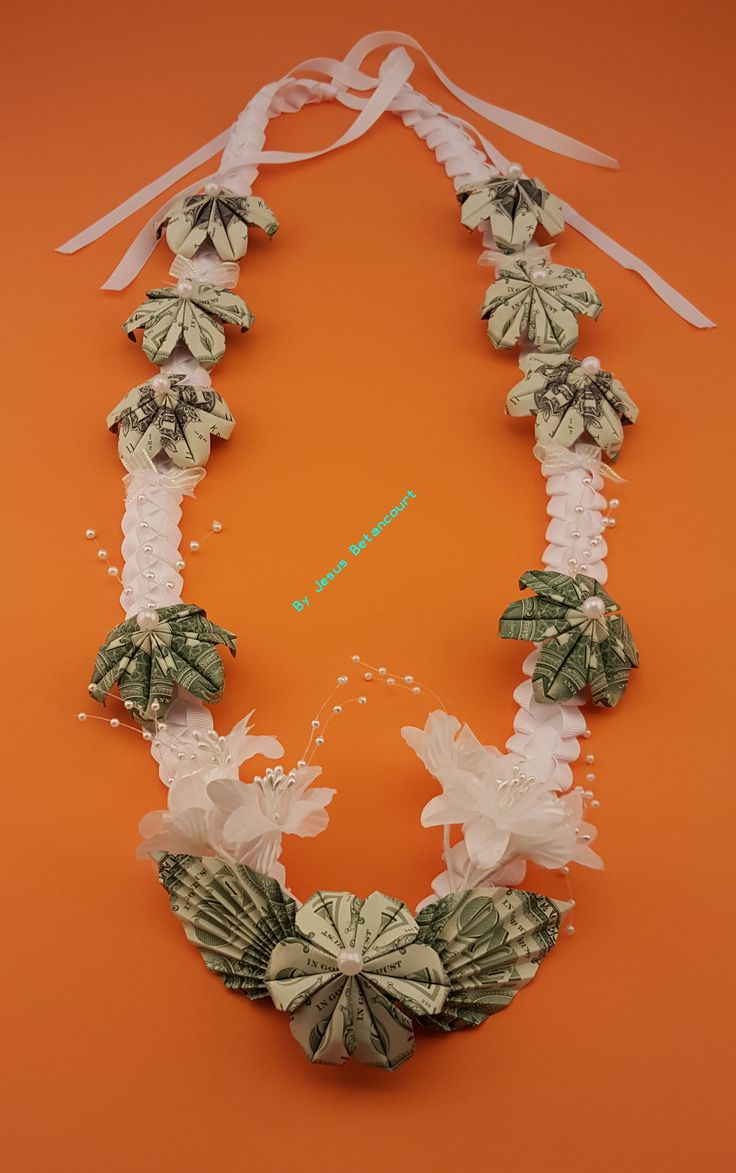 Beautiful Money Lei For Wedding