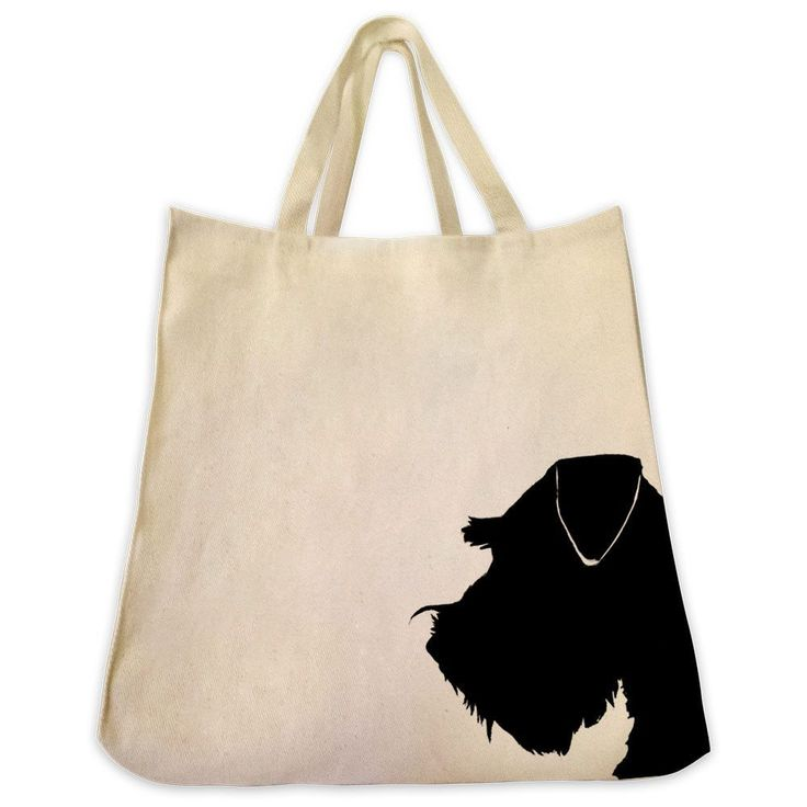 - Description - Features - Breed Info Description The Schnauzer / Miniature Schnauzer cotton twill tote bag is the perfect gift for the dog lover in your life. These tote bags are handmade from the hi