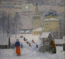 Русская зима. Телин Владимир Никитович (1941-2012),