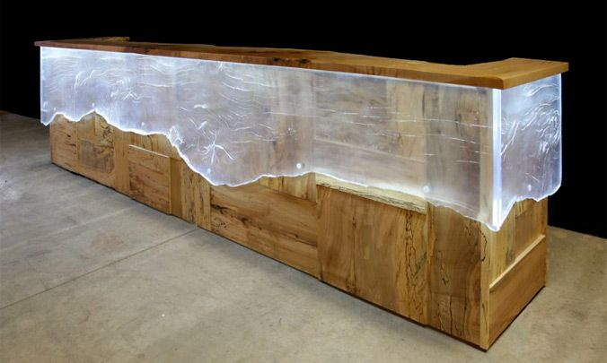 Reception counter by John Houshmand | Architecture