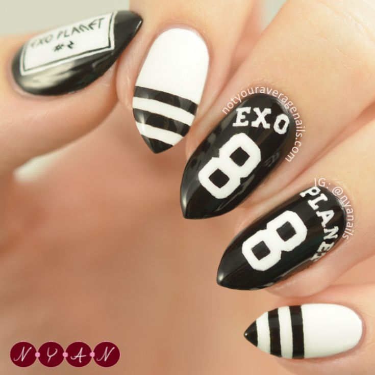 Nailpolis Museum of Nail Art | EXO'luXion by Becca (nyanails)