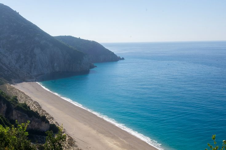 Lefkada island, Greece - perfect Milos beach in November!