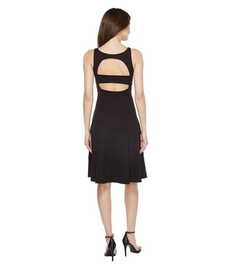SUSANA MONACO SUSANA MONACO - PAIGE DRESS (BLACK) WOMEN'S DRESS. #susanamonaco #cloth #