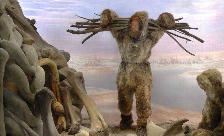 The Cro-magnon diorama in the Hall of Human Origins ...