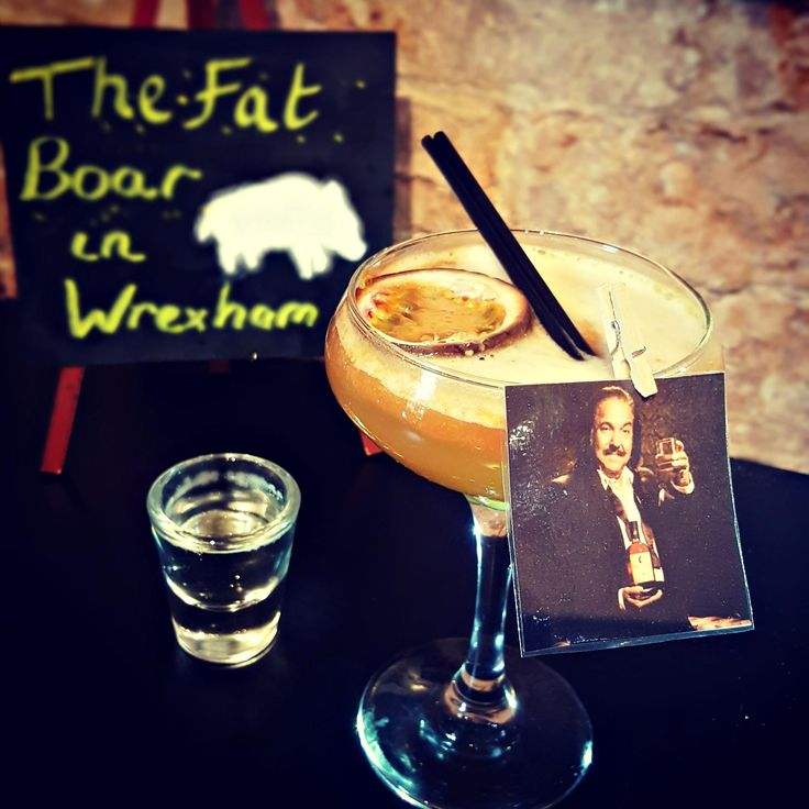A Ron Jeremy Martini is all you need 😏👉👌  - Visit @thefatboarwxm (Ig) in Wales and let them charm you with this cocktail. - 25ml Ron De Jeremy Rum - 25ml Passoa - 25ml Pineapple Juice - 12.5ml lime juice - 12.5ml Vanilla Syrup - Served with a shot of Prosecco. . . . . . . . . . . . . . . . #rondejeremy #cocktails #gin #bartenders #contest #event #tasty #rum #rumwithatwist #theoriginaladultrum #ronjeremyrum #mixology #ron #inspiration #rumtales #mixing #cocktailslife #ronjeremy #martini