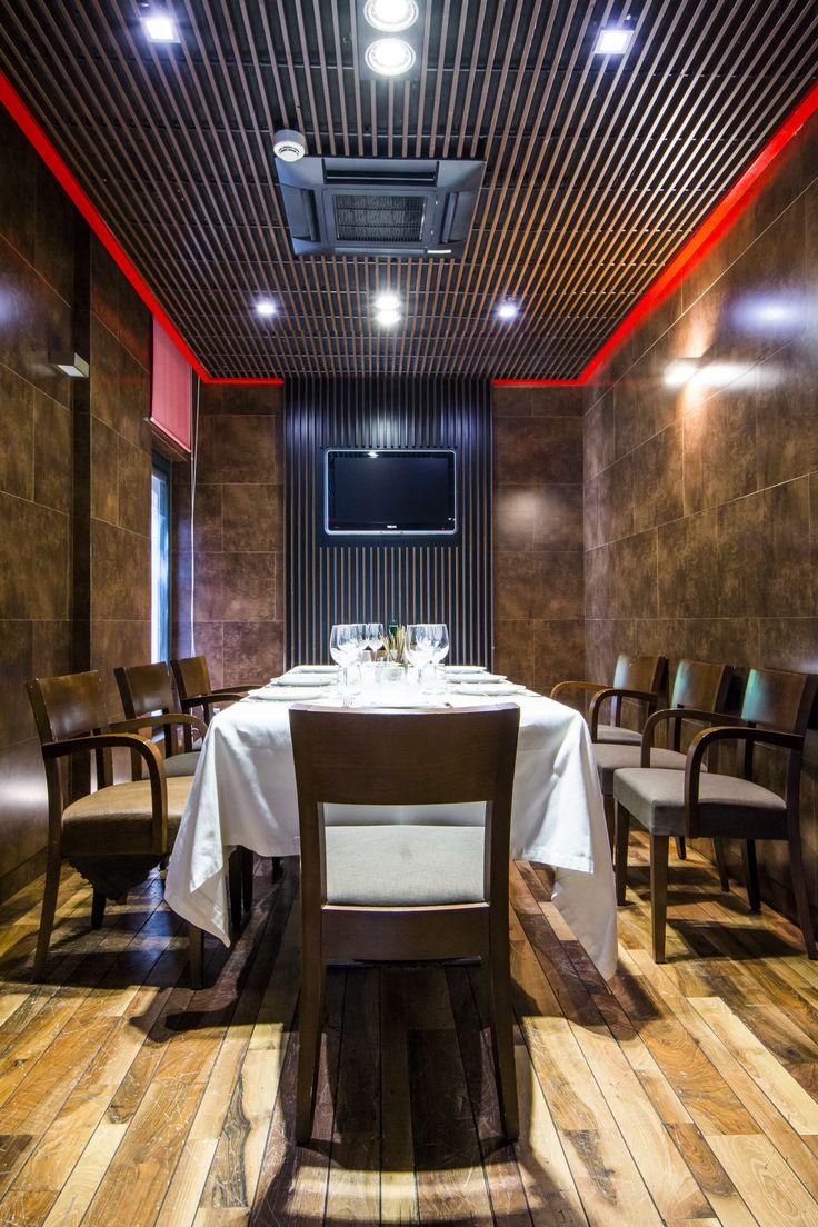 Reservado en el restaurante Casa Narcisa.