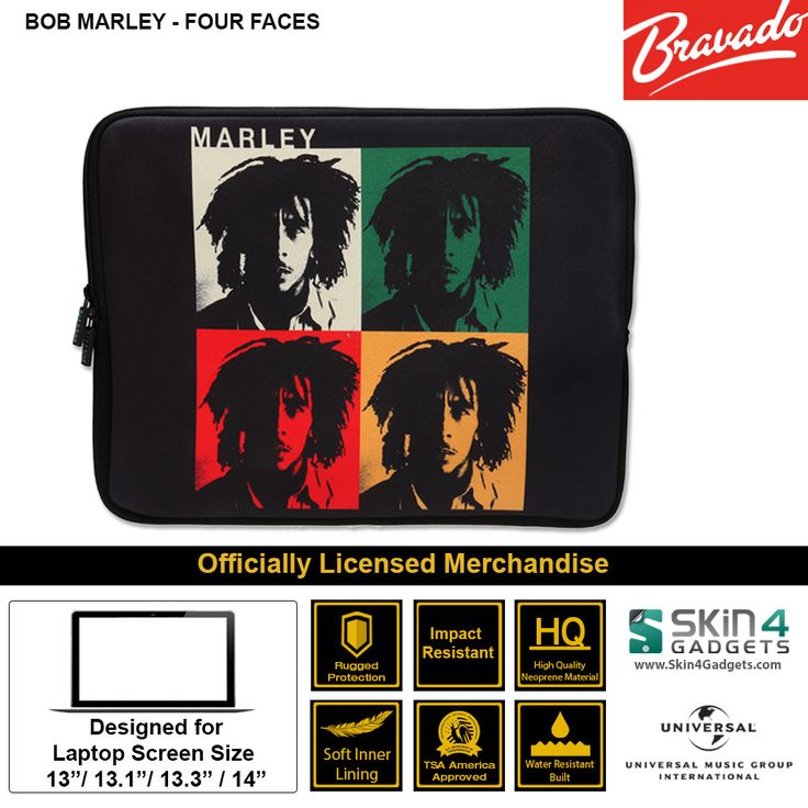 Universal Music/ Bravado Licensed Durable Neoprene material. This Notebook Sleeve not only protects your device but makes you look stylish with Official License
