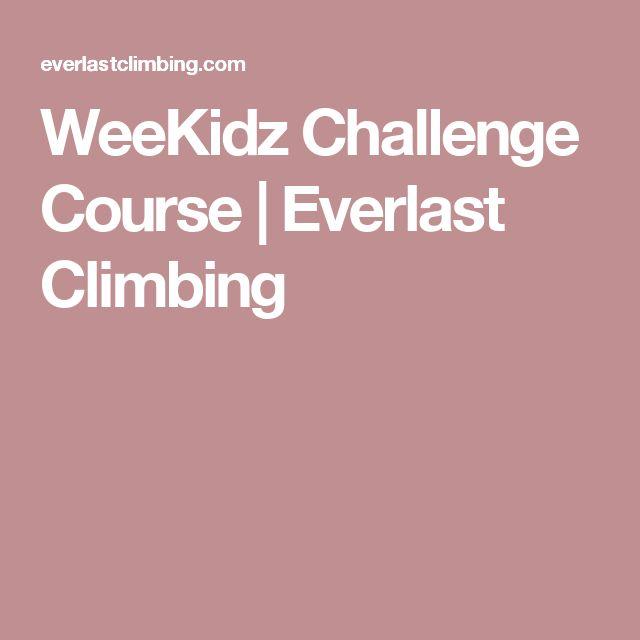 WeeKidz Challenge Course | Everlast Climbing