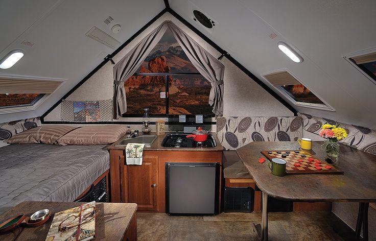 rockwood camper interior