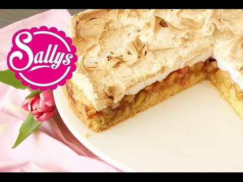 Sallys Blog - Rhabarberkuchen mit Baiserhaube
