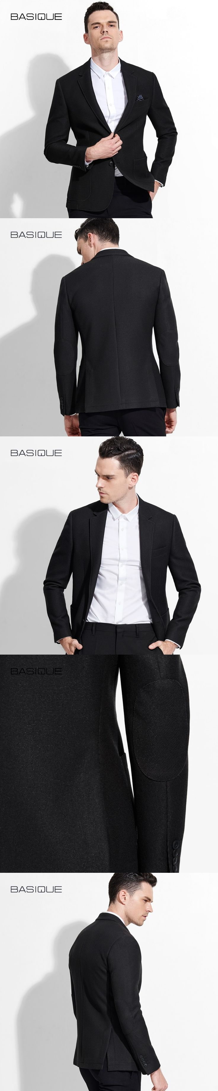 men blazer black 2017 spring new arrivals fashion young man business casual groom mens stage wear XS 2XL full sleeve suits coat