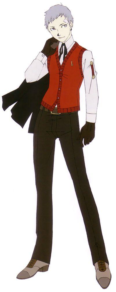 Akihiko Sanada Concept - Characters & Art - Shin Megami Tensei: Persona 3