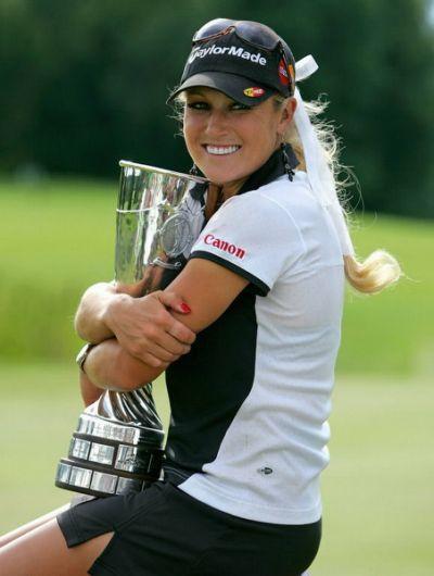 Hot Women Golfer Natalie Gulbis