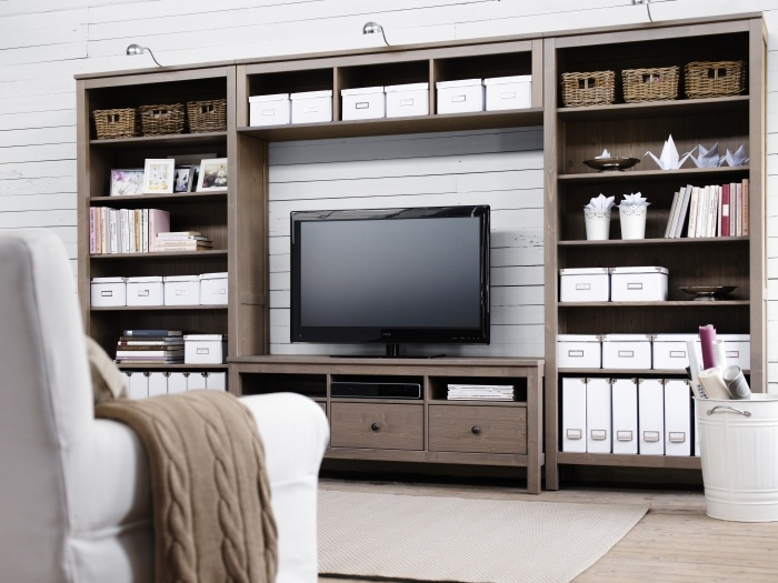 The HEMNES Series Also Gives You Ability To Create An Entertainment System That Is Right For Designer Carina Bengs