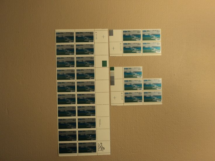 USPS Scott 2091 20c 1984 Saint Lawrence Seaway Lot Of 3 Plate Block Mint NH -- New