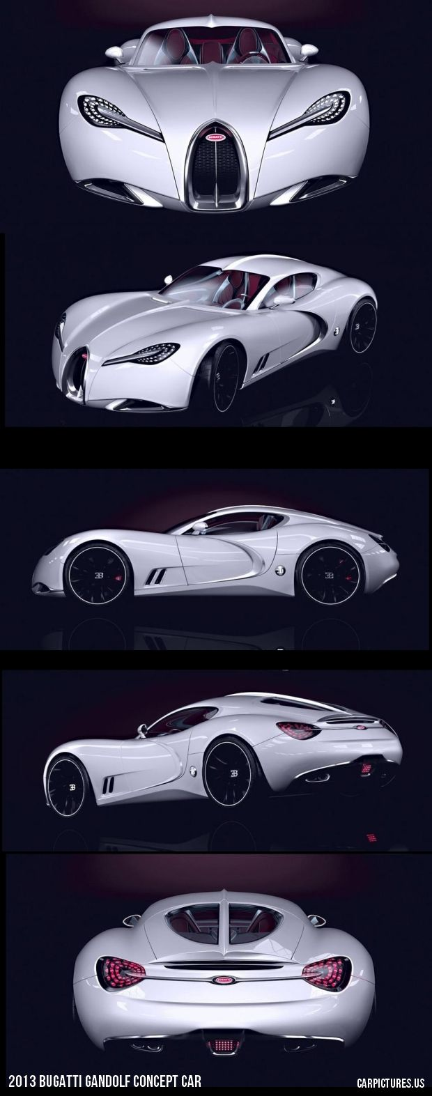2013 Bugatti Gandolf Concept Car - whoa!