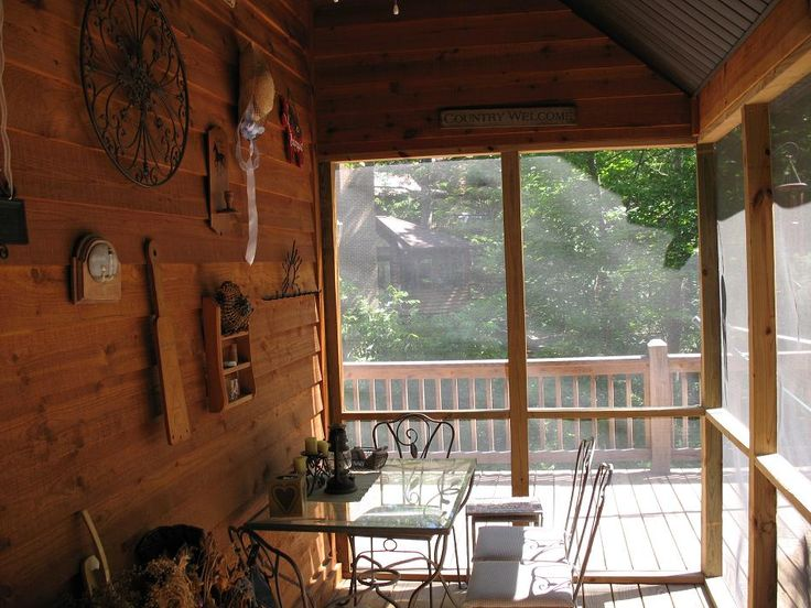 37 best back porch images on pinterest rustic porches for Rustic porches and decks
