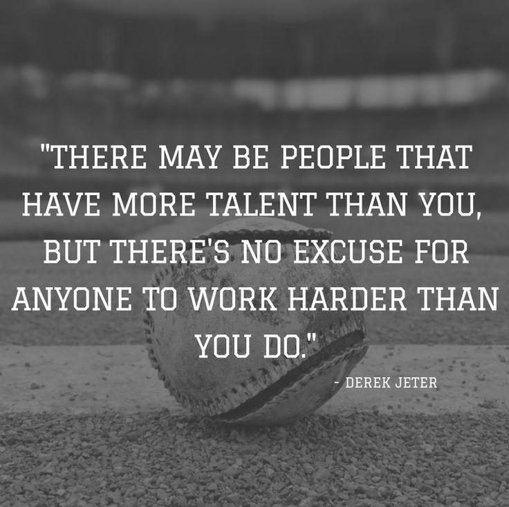 Derek Jeter- Motivational Sports Quote https://ithadtobetold.com/best_motivational_quote_list/ #sportsquote #quote #motivation
