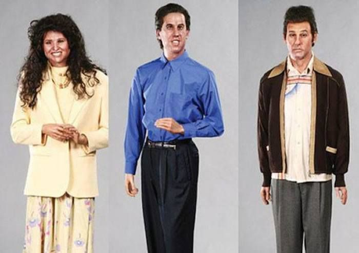 Seinfeld  The 18 Most Bizarre And Scary Celebrity Waxworks You'll Ever See • Page 5 of 5 • BoredBug