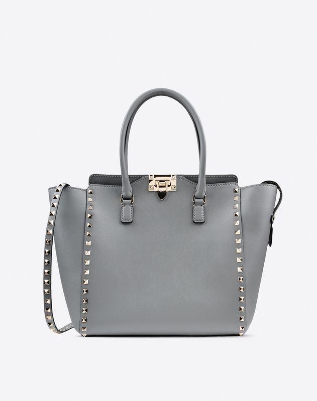 618dee8711 Valentino Garavani Women Rockstud double handle bag  Valentino ...
