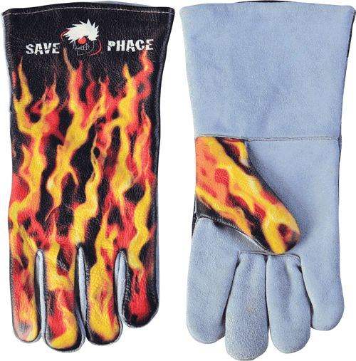 Save Phace 3012398 Fired Up Welding Gloves
