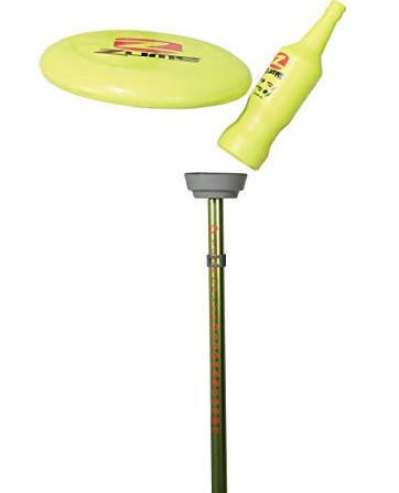 beer frisbee pole game