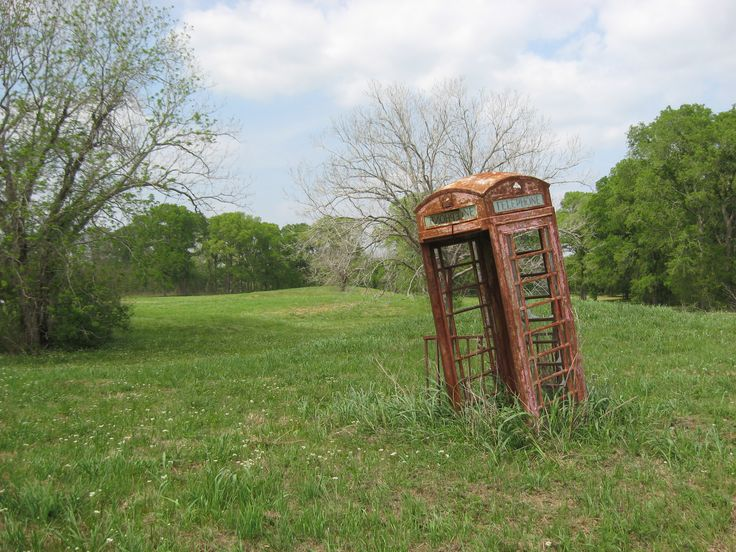 abandoned phone box - mlkshk